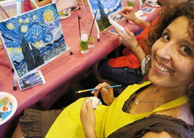 pennellino paint like van gogh happy face