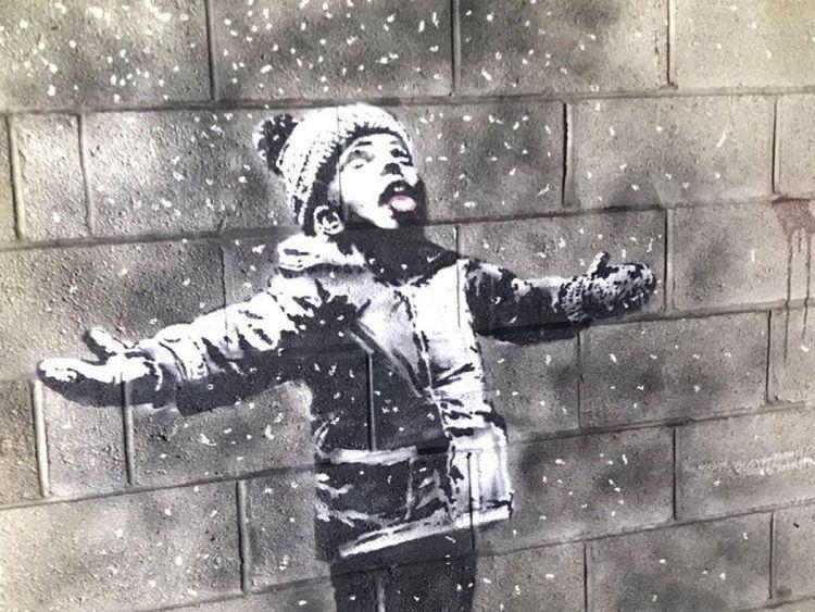 Banksy – Season's Greetings