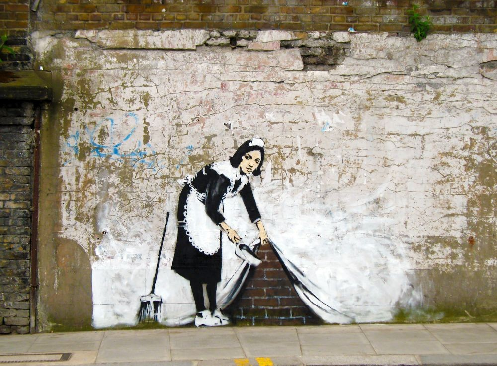 Banksy' s maid
